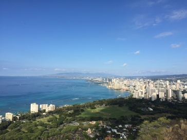 Sweeping views of Honolulu
